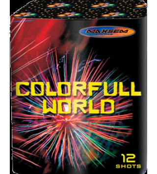Салют Colorfull World GW218-94 (red)