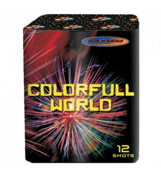 Салют Colorful World Red GW 218-94 калибр 20 мм, 12-зар.